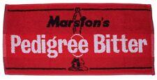MARSTON'S PEDIGREE BITTER Pub Beer BAR TOWEL