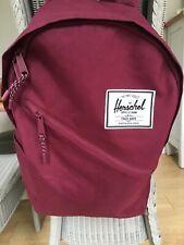 herschel backpack Burgundy