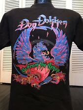 VTG Dokken Ashes Tour Shirt Sz M Rock Ratt Row Crue Metal Cinderella Poison Kix