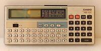 Casio pb-100 personal computer vintage retrocomputer portable tascabile pb100