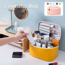 Large Makeup Bag Cosmetic Case Travel Storage Toiletry Organizer Waterproof US