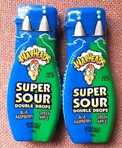 Warheads Super Sour Double Drops x 2