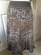 Fat Face Ladies Floral Cotton Skirt Size 10. Good Condition.