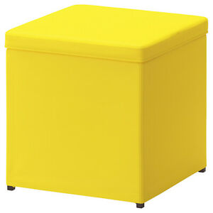 IKEA Stool Sitting Area With Storage 36x36x36cm Seat Chair Table