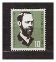 S31581) Germany 1957 MNH Heinrich Hertz 1v