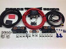 3 Mtr Heavy Duty Split sistema de tasas de 300amp Heavy Duty relé & 300 Amp Cables