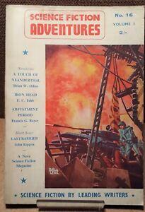 bundle of 12 Science Fiction Adventures '58 - '63 vintage Nova GB editions