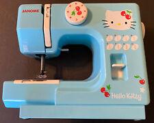 2005 Janome Hello Kitty Blue Sewing Machine Model 525