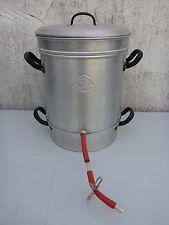 alter gebrauchter Entsafter Dampfentsafter Fruchtentsafter Alu Aluminium Teka
