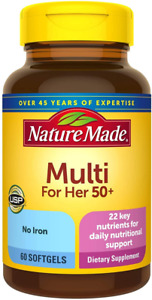 Nature Made Women's Multivitamin 60 Count (Pack of 3), 60 3)