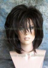 Dark Brown Layered Womans Nirvana Tina Turner Drag? Wig