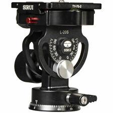 Sirui L-20S Tripod&Monopod Two-dimensional Pan/Tilt Heads w Quick Release Plate
