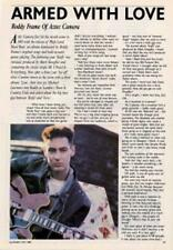 Aztec Camera Roddy Frame 'Guitarist' Interview Clipping