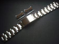 19MM VINTAGE STYLE OF SOLID STEEL RIVET OYSTER BAND BRACELET FOR EXPLORER WATCH