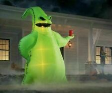Huge Oogie Boogie 10.5 ft Led Lighted Inflatable Nightmare Before Christmas