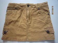 Poney Girl Brown Short Skirt (7-8yo) 1pcs