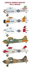 Caracal Models 1/48 decal DHC-2 Beaver for  Hobbycraft Kit - CD48107