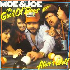 Moe & Joe(Vinyl LP)The Good Ol' Boys-CBS-CBS 26068-UK-1984-VG+/VG+