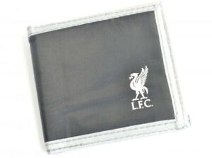 Liverpool FC Wallet Canvas Black LFC Official Merchandise Money Wallet