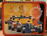 1977 Vintage KST Racing Wheels metal lunch box