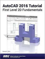 NEW AutoCAD 2016 Tutorial First Level 2D Fundamentals by Randy Shih