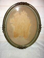 Très beau grand cadre ovale ancien - Art déco 1920