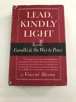 Lead, Kindly Light - Vincent Sheean (1949, 1st Edition, Hardcover, Dust Jacket)