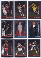 05/06 Bowman Chrome Basketball Cards PICK TEN COMPLETE YOUR SET! CHOOSE ANY 10!