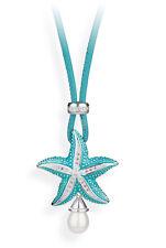 Estrella de Mar Colgante con cadena y pendientes HILO + Perla