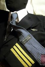 Concorde British Airways Silk Tie In-Flight Gift have a New one unused wrapped*
