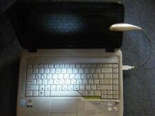 USB flessibile LAPTOP NOTEBOOK PC TASTIERA Lampada - 3 LED PER NOTTE / viaggio