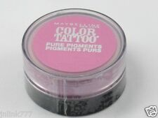 NEW Maybelline Eye Studio Color Tattoo Pure Pigments-20 Pink Rebel