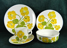 """32-PIECES (OR LESS) OF NORITAKE PROGRESSION """"FLOWER TIME"""" PATTERN #9072 CHINA"""