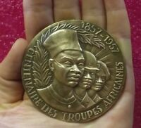 1857-1957 Paris French Foreign Legion African Colonies medal by TSCHUDIN