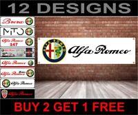 Alfa Romeo Banner Officina, Garage, Ufficio o Concessionario PVC Banner
