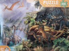 DINOSAUR VALLEY 300 PIECE PUZZLE,SIZE 61CM × 45.8CM,FUN FOR ALL AGES 6+ ONE ONLY