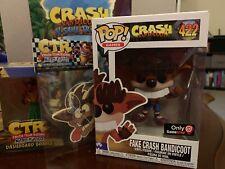 Crash Bandicoot: Collectors Lot, Dashboard Bobble, Air Freshner,Game Guide & Pop