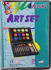 Kids Crafts – Mini Deluxe Art Set - 24 pc