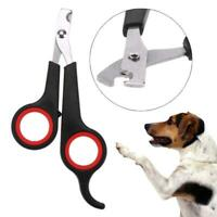 Pet Dog Nail Toe Clippers Scissors Trimmers Cutter Tool Stainless Nail Clipper