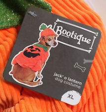 Pumpkin Halloween Dog Costume - XLarge 2 Piece Pet Set - New With Tags - Pets