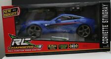 """NEW BRIGHT RC CHARGERS """"CORVETTE STINGRAY!"""" 2.4 GHZ USB CHARGING BLUE RED STRIPE"""