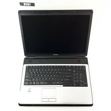 """TOSHIBA SATELLITE L355-S7905 17"""" LAPTOP 2GB NO HDD FOR PARTS"""