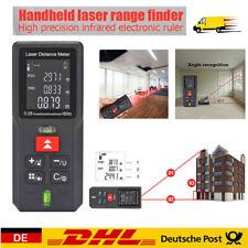 100M Laser Entfernungsmesser LCD Digital Entfernungsmessgerät Distanzmesser DE
