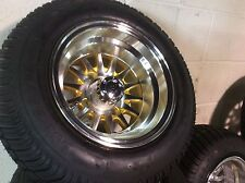 Golf Cart Wheel and Tire combo SPECIAL fit E-Z-GO Club Car Precedent LAST SET!