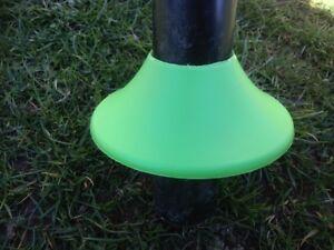 Rohrschutz, Gras Stopper, Gartenzaun, Maschendrahtzaun aus Kunststoff