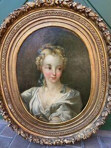 Portrait Mädchen 18 Jh.