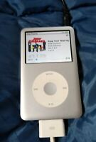 Apple iPod classic 7th Generation 160 GB 14944 Songs dock EXTRAS TESTED WORKS