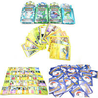 25pcs Assorted Trading Paper Cards for POKEMON Card as Children Games Pop