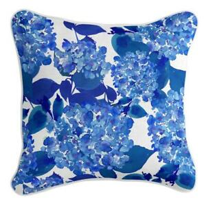 Antonella - Premium Cushion Cover   Quality Indoor Outdoor Blue White Floral