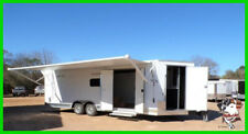 8.5 x 24 24ft  Hauler UTV Classic Racing  Show Bike Enclosed Cargo Trailer TX